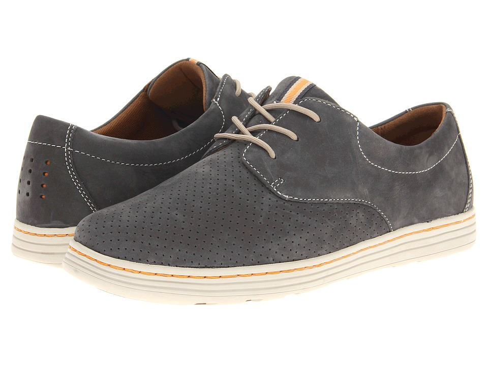 Dunham Camden Navy Mens Plain Toe Shoes