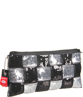 Harveys Seatbelt Bag - Black & Silver Arm Candy - Sequin