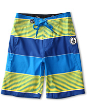 Volcom Kids - Maguro Stripe Boardshorts (Big Kids)