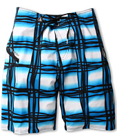 Volcom Kids - Wavey Plaid Boardshort (Big Kids)