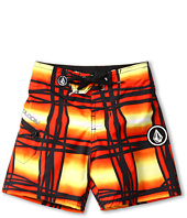 Volcom Kids - Wavey Plaid Boardshort (Toddler/Little Kids)