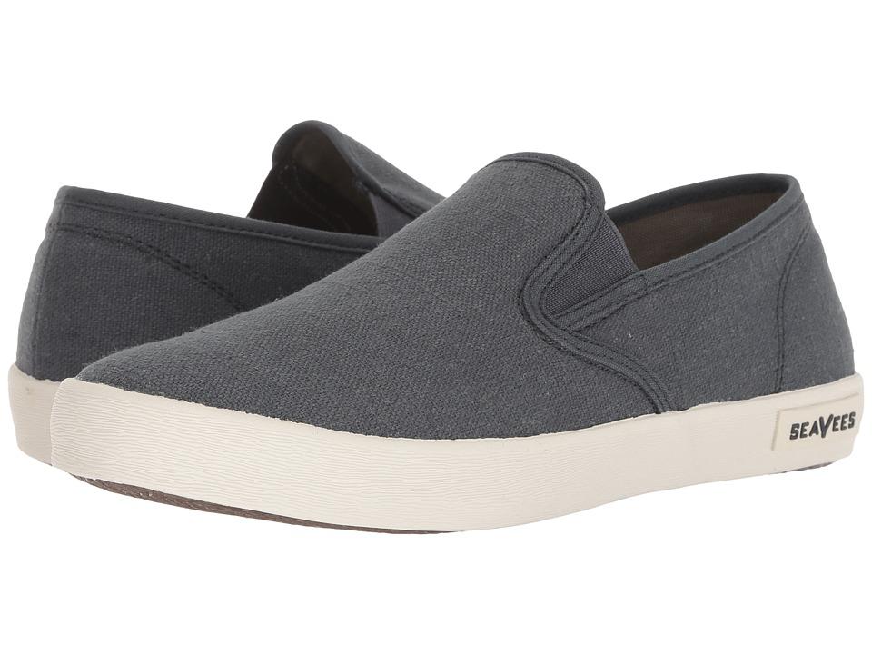 SeaVees 02/64 Baja Slip-on Standard (Slate Navy Vintage Wash Linen) Men