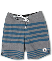 Volcom Kids - Heather Stripe Boardshort (Big Kids)