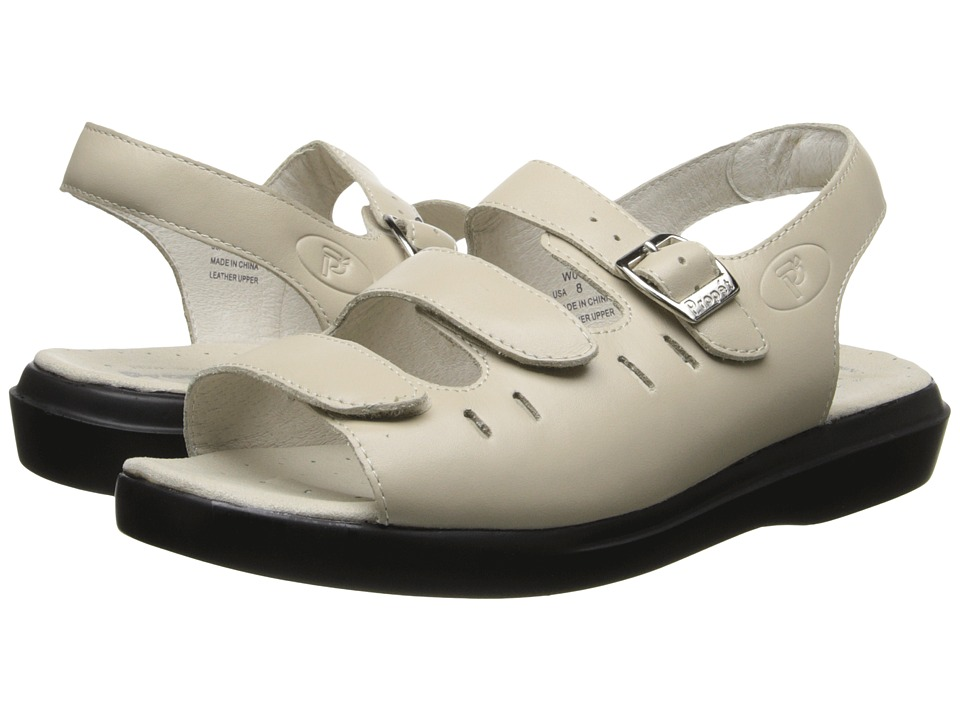Propet Breeze Walker (Bone) Women's Shoes