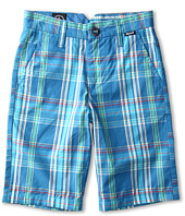 Volcom Kids - Rushy Plaid Short (Big Kids)