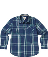 Volcom Kids - Why Factor Plaid L/S Shirt (Toddler/Little Kids)
