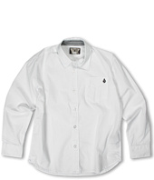 Volcom Kids - Why Factor Solid L/S Shirt (Big Kids)