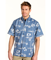 Reyn Spooner - Uapo I'a Tahitian Cotton Placket Front Shirt