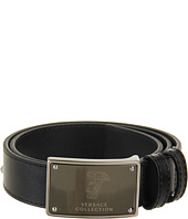 Versace Collection - Calfskin Signature Belt