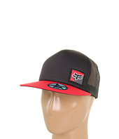 Cheap Fox Stencil Hat Black