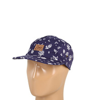 Cheap Obey Yuma 5 Panel Hat Indigo