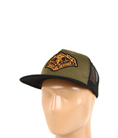 Cheap Obey Search Destroy Trucker Hat Military Olive Black