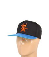 Cheap Obey Foul Line Snapback Hat Black 2