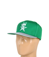 Cheap Obey Foul Line Snapback Hat Green