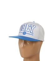Cheap Obey Obey Athletics Snapback Gray Light Blue
