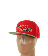 Cheap Obey Obey Posse Snap Back Cap Red Tan