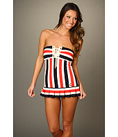 Juicy Couture - Bandeau Swimdress w/ Removable Soft Cups