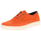 Cole Haan - Bergen Wingtip (Corporate Orange Suede) - Footwear