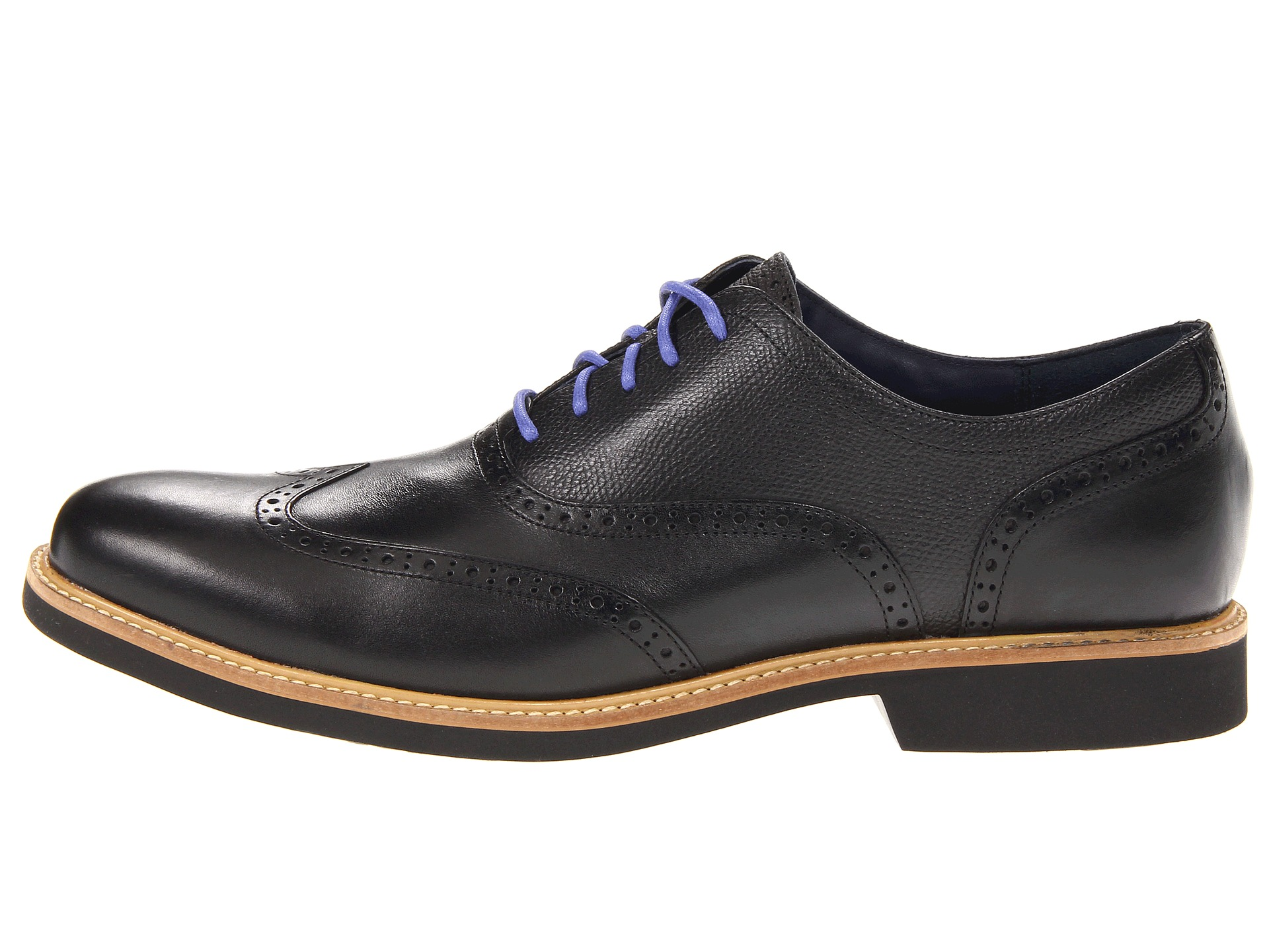 Cole Haan Great Jones Wingtip Shoes Shipped Free At Zappos