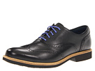 Cole Haan - Great Jones Wingtip (Black/Black Grain/Black) - Footwear