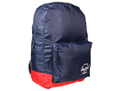 Herschel Supply Co. Packable Daypack (Navy/Red)