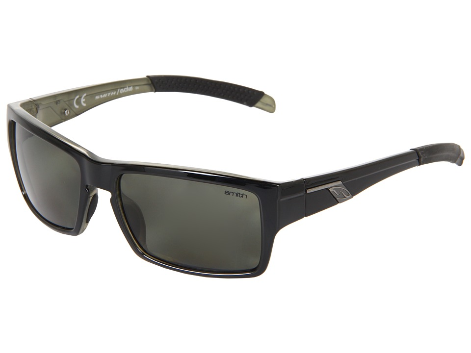 Smith Optics Outlier Polarized Black/Polarized Gray Green Lens Polarized Sport Sunglasses