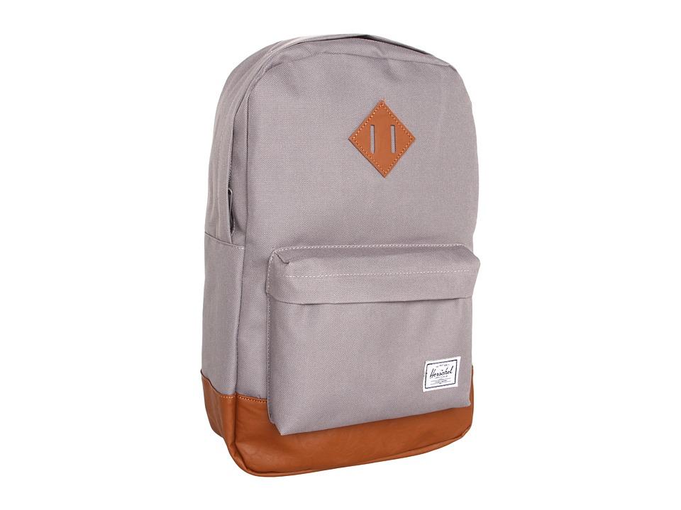 Herschel Supply Co. - Heritage Medium Volume (Grey) Backpack Bags