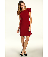 ABS Allen Schwartz - Rosette Shoulder Dress With Open Back