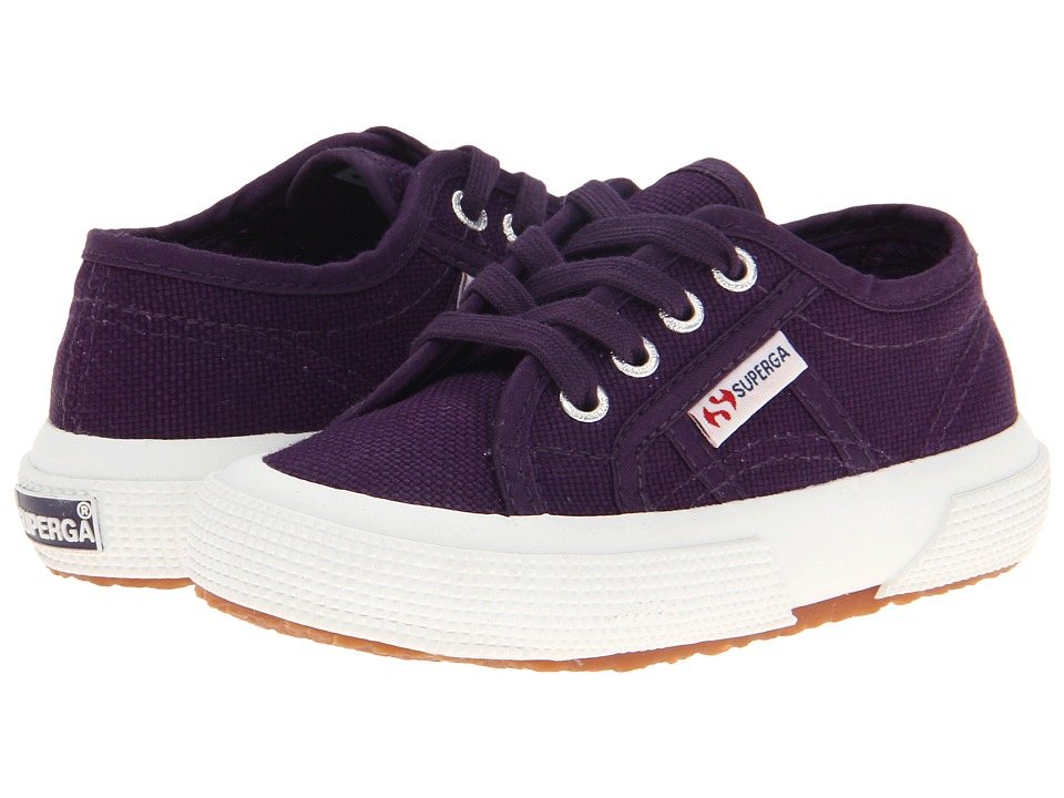 Superga Kids - 2750 JCOT Classic (Toddler/Little Kid) (Prune) Girls Shoes