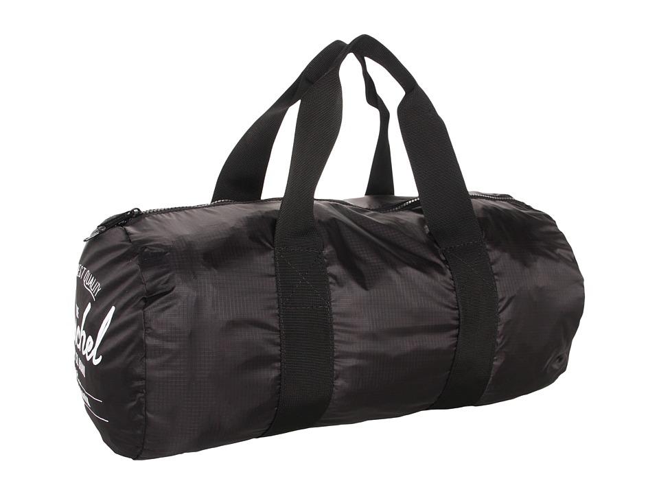 Herschel Supply Co. Packable Duffle Bag Black Duffel Bags