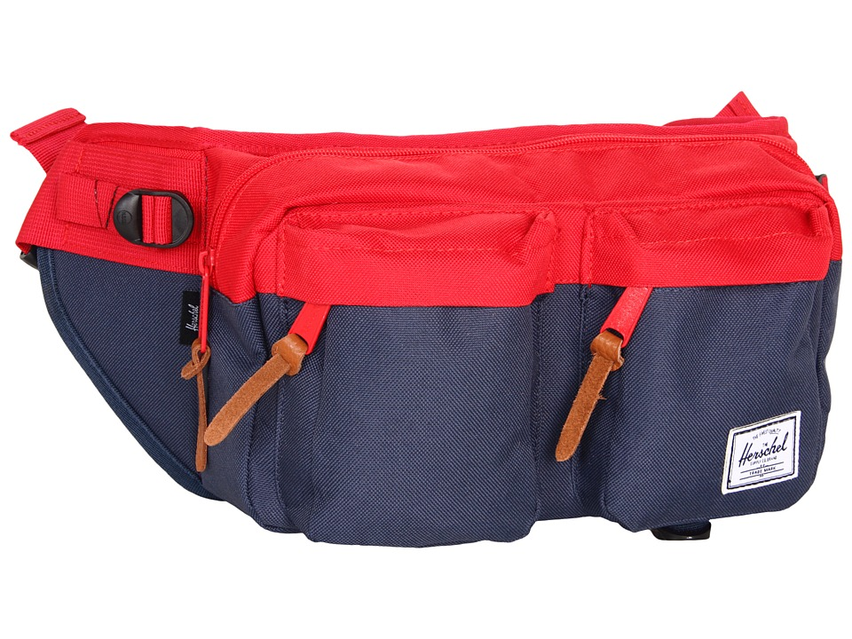 Herschel Supply Co. - Eighteen (Red/Navy) Travel Pouch