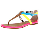 Sperry Top-Sider - Summerlin (Tan/Neon Blue/Pucker)