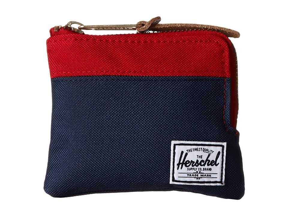 Herschel Supply Co. - Johnny (Red/Navy) Coin Purse