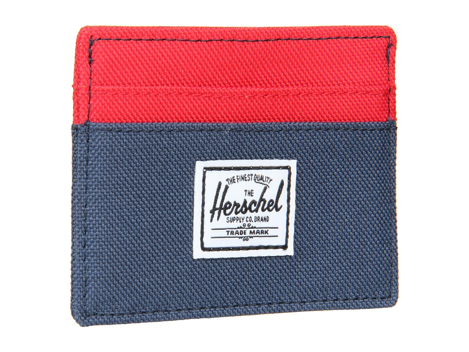 Herschel Supply Co. - Charlie (Red/Navy) Credit card Wallet