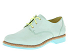 Sperry Top-Sider - Delancey (Light Green Aqua Nubuck)