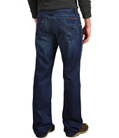 7 For All Mankind - Austyn Relaxed Straight Flynt Pocket in Deep Blue Distressed