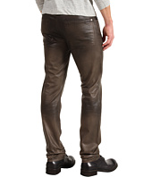 7 For All Mankind - Slimmy Slim Straight Leather-Like Denim