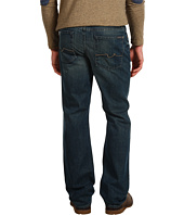 7 For All Mankind - Austyn Relaxed Straight Leg w/ 3-D Squiggle in Baring Bay