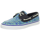 Sperry Top-Sider - Bahama 2-Eye (Turquoise Zebra/Navy)