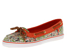 Sperry Top-Sider - Lola (Multi Floral/Tangerine (Sequins)) - Footwear