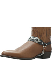 Laredo - Antiqued Concho Boot Straps