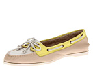 Sperry Top-Sider - Audrey (White/Nude/Neon Yellow)
