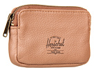Herschel Supply Co. Oxford Pouch (Tan Pebble Leather)