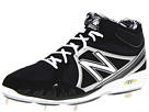 New Balance MB3000 Metal Mid Cut Cleat Black, Silver Shoes