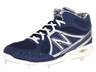 New Balance MB3000 Metal Mid Cut Cleat Blue, White Shoes