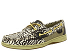 Sperry Top-Sider - Bluefish 2-Eye (Dark Brown Zebra Printed Canvas)