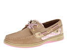 Sperry Top-Sider - Bluefish 2-Eye (Linen/Lavender Gingham (Sequins))