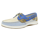 Sperry Top-Sider - Bluefish 2-Eye (Blue/White/Tan (Open Mesh))