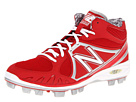 New Balance MB2000 TPU Molded Mid Cut Cleat Red, White Shoes