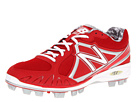 New Balance MB2000 TPU Molded Low Cut Cleat Red, White Shoes